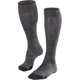Falke TK2 Long Socks Men asphalt melange